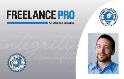 Freelance Pro membership card with photo