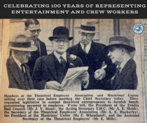ATAEA Centenary 1923 newspaper clipping